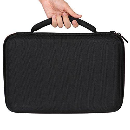 LTGEM Travel Hard Carrying Case for Akai Professional MPK Mini MKII | 25-Key Ultra-Portable USB MIDI Drum Pad & Keyboard Controller - Image 6