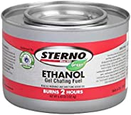 Sterno-6.43 oz. Ethanol Gel Chafing Fuel/Burns for 2 Hours/Entertainment Cooking/Camping/Catering/Biodegradabl