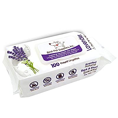 Soothing Oatmeal Fragrance-Free Pet Wipes for Dogs & Cats Extra Soft & Strong Grooming Wipes with Gentle Plant-Derived…