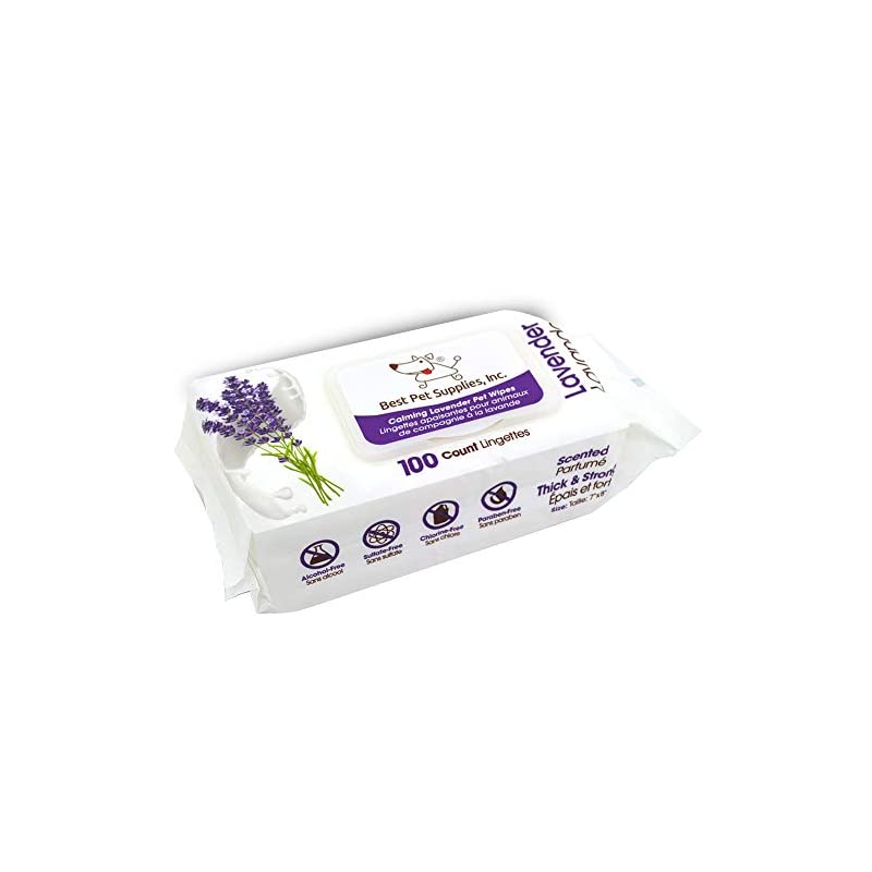 Pet Grooming Wipes for Dogs and Cats | Hypoallergenic and Deodorizing