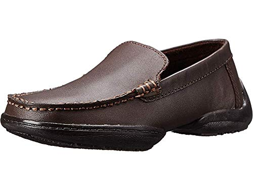 - Kenneth Cole Reaction Driving Dime Loafer (Little Kid/Big Kid),Dark Brown,6 M US Big Kid