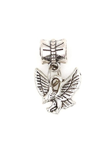 It's All About...You! Small Eagle Dangling European Bead Charm 88Ac (Charme Und Charm Sonnenbrille)