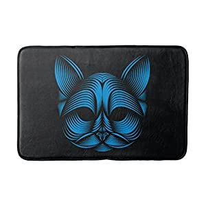 YANGDOU Popular Cat(11) Generic Indoor-Outdoor Designer Doormat 23.6x15.7inches 113