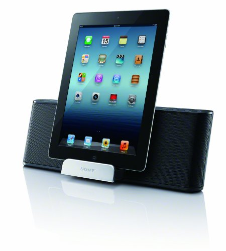 Sony RDPT50IPN Lightning iPad/iPhone/iPod Portable Speaker Dock (Ipod Dock Lightning Connector)