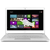 Acer Aspire S7-392-9439 13.3-inch WQHD Touchscreen Ultrabook, i7-4500U Processor, 8GB RAM, 256SSD Drive (Crystal White)