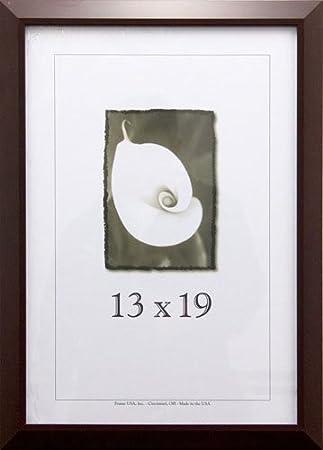 Amazoncom 13 X 19 Poster Frame Budget Saver Series Cherry