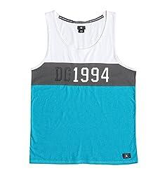 DC Men's 1994 Est Tank Top, Blue Jewel, Medium