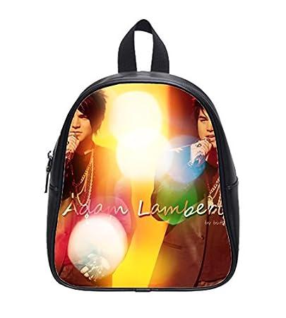 391c61fa3d78 Amazon.com : Top Sale adam lambert Custom Kids School Backpack Bag ...