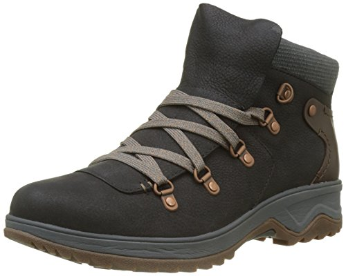 Merrell WoMen Eventyr Vera Bluff Lace Waterproof High Rise Hiking Boots Black (Black)