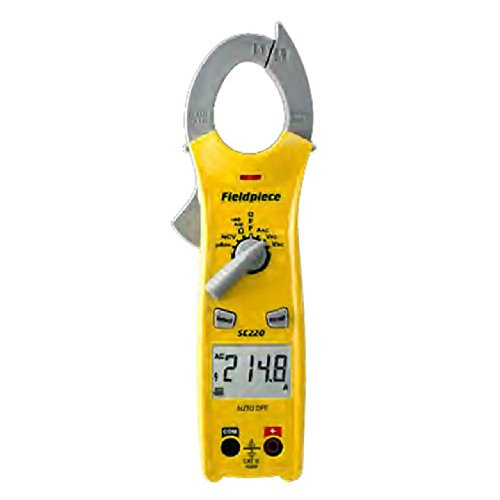 Fieldpiece SC240 Compact Clamp Multimeter with Temperature (Clamp Meter Fieldpiece)