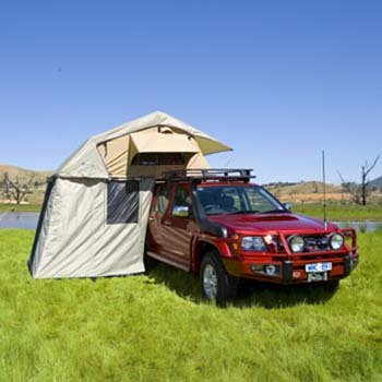 ARB 804100 Simpson III Brown Rooftop Tent Annex/Changing Room by Arb