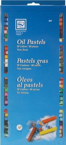 - Oil Pastel Set-60 Pieces, 59 Colors 1 pcs SKU# 640643MA