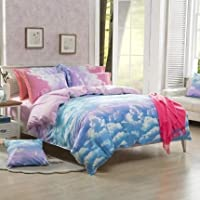 WNJ-bedding Fundas de edredón, Ultra Suave 3PCS 200TC