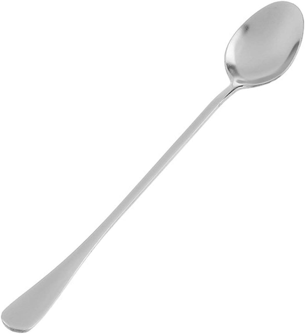 T4529 Cucina Creativa in Acciaio Inox Cucchiaio a Manico Lungo Cucchiaio di Ghiaccio Ufficio cucchiaino da caff/è mescolando Cucchiaio Cucchiaio Lungo #Pennytupu
