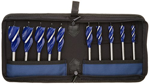 IRWIN Tools SPEEDBOR Max Wood Drilling Bits, 6-Inch length, 10-Piece (1801022) ()