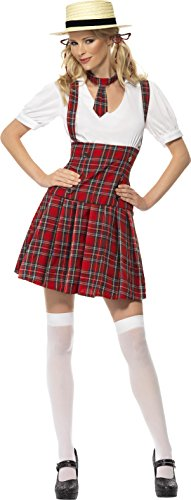 Schoolgirl Costume Female UK Dress 16-18 31030L