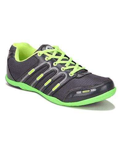 Yepme , Herren Leichtathletikschuhe mehrfarbig Grey & Green