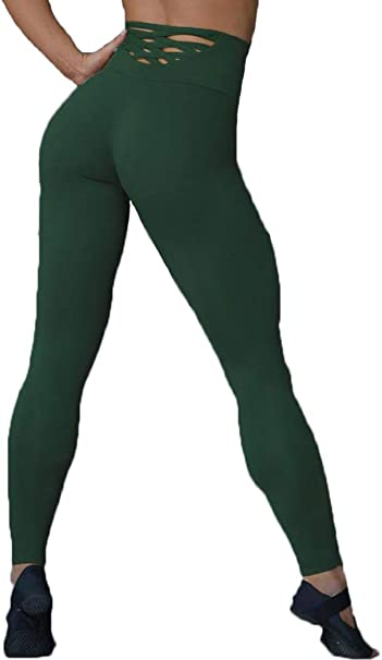 Amazon.com: Moschifia Leggings Mujer Yoga Pantalones de ...