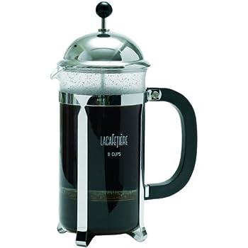 La cafetiere optima 8 cup french press chrome - La cafetiere french press ...