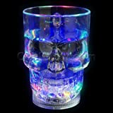 LED 14oz Liquid Activated Skull Mug - Multicolor