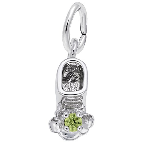 - Rembrandt Charms, August Baby Bootie.925 Sterling Silver