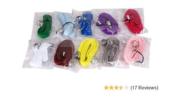 2pcs Pack E Cig Sig Lanyard Neck Sling Rope Necklace Electronic Cigarette  Ego Hole Ring (2 x Deep Blue)