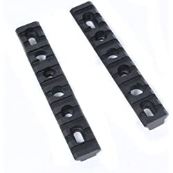 "Ultimate Arms Gear Machined Aluminum Deluxe AR15 AR-15 M4 M16 Rifle Set Of 2 7/8"" Accessory Mount System"