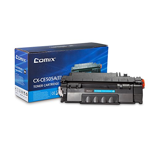 COMIX Compatible Toner Cartridge Replacement for HP 05A (Black)