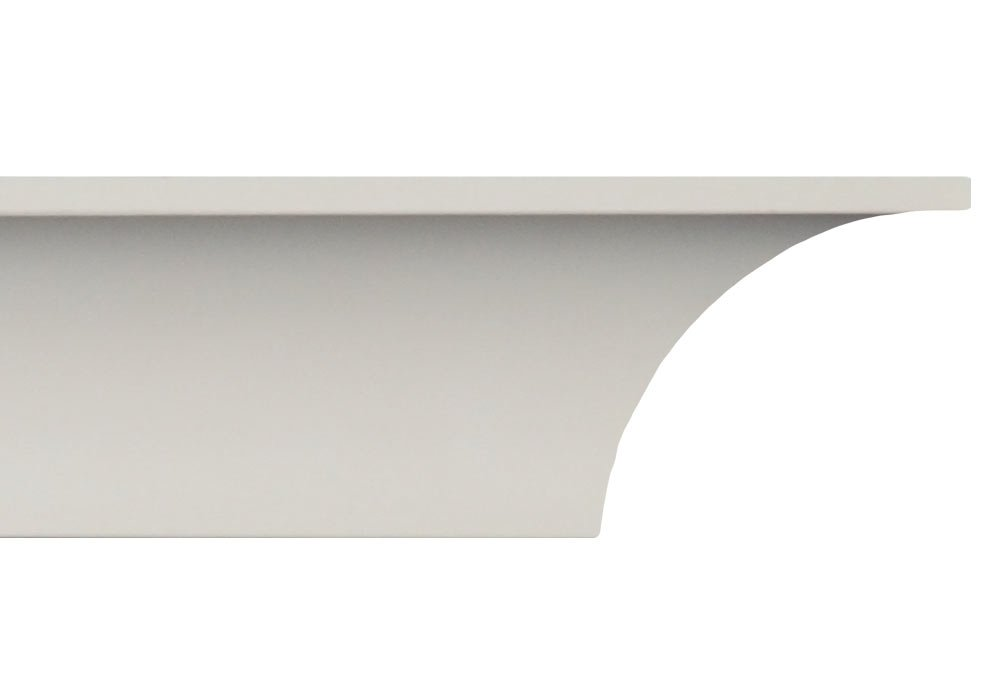Crown Molding - Plastic Crown Moulding Manufactured with a Dense Architectural Polyurethane Compound. CM-2002 Crown Molding. (6)