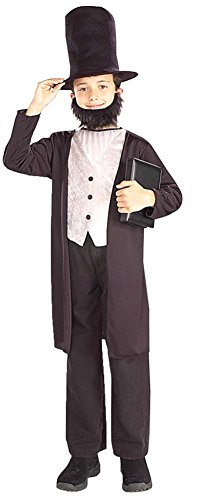 Abraham Lincoln Child Costume 12-14 Kids Boys Costume