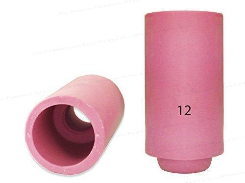 1 O 10 CERAMICA Bocchettone GAS STANDARD per SR17 SR18 SR26 HP17 WP17 sr-17 TIG/WIG BRUCIATORE - 1 Pezzo, 11,2mm Ø K.A.