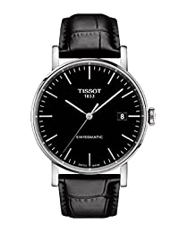 Tissot Everytime Swissmatic Stainless Steel Leather Mens Automatic Watch T1094071605100
