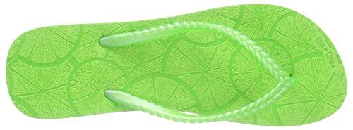 356 Lemon Grün Slim Tongs Femme flip flop Ozq1xSw1p