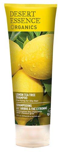 Desert Essence Organics Shampoo Lemon Tea Tree -- 8 fl oz - 3PC