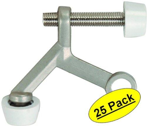 Accessories Chrome Satin Hinge (25 Pack - Designers Impressions Satin Nickel Lite Duty Hinge Pin Adjustable Door Stop : 8525)