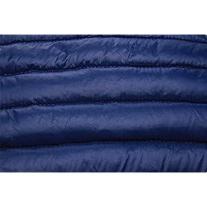 Ilishop Women's Winter Outwear Light Coat Packable Down Jacket Navy M(Standard US Size)
