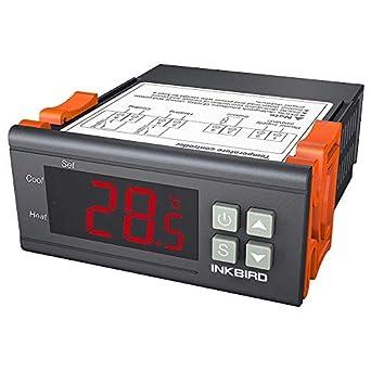 Inkbird Itc 1000 12v Thermostat Temperaturschalter Für Reptile Heizmatte Aquarium Alle Produkte
