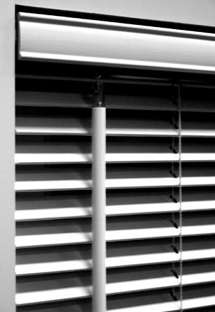 Made-to-Order 1 Inch Real Wood Horizontal Blinds, 100% American Basswood, 36W x 48H, Nutmeg