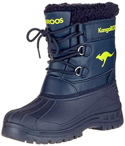 Mixte Navy Souples dk Kangaroos 4054 Apol Bleu Boot Enfant Bottes lime ZHxpwAqI