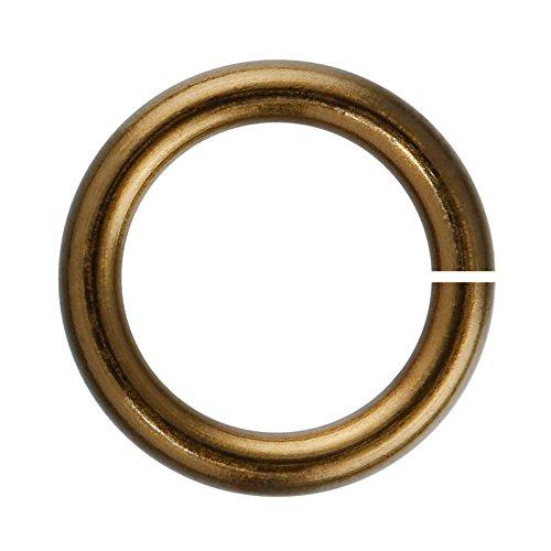 Weave Got Maille 18-Gauge 6mm Vintage Bronze Enameled Copper Jump Rings - 1 Ounce