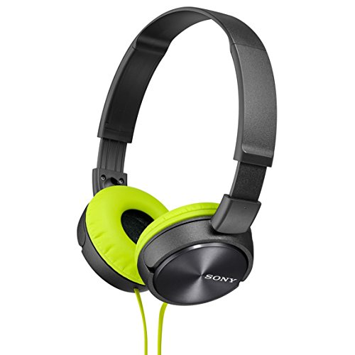 Sony Dynamic closed-type headphones MDR-ZX310-H Lime Green/Gray