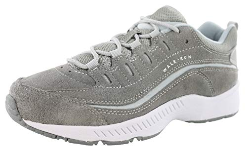 Easy Spirit Women's Romy Suede Walking Shoes Medium Gray 8 M ()