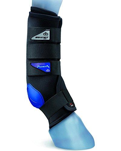 Veredus Unisex Magnetik Stable Boot Front Black Large US by Veredus