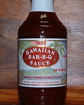 NOH Hawaiian BBQ Sauce (3 -
