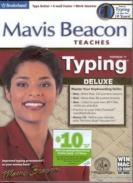 UPC 705381100690, Mavis Beacon Teaches Typing Deluxe 17 - Old Version