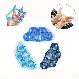 Finger Stretcher & Hand Resistance Bands, Finger Extensor Exerciser, Grip Strength Strengthener Trainer for Arthritis… 9