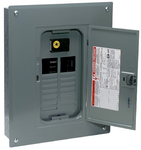 Square D by Schneider Electric QO120M100C QO 100 Amp 20-Space 20-Circuit Indoor Main Breaker Load Center with Cover (Square D Panel Screw compare prices)