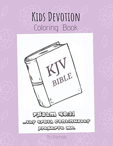 Kids Devotion Coloring Book -