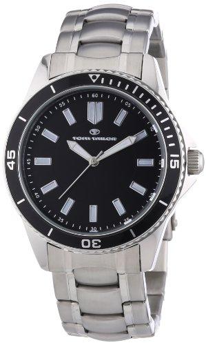 TOM TAILOR Herren-Armbanduhr XL Analog Quarz Edelstahl 5412505