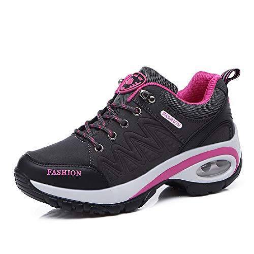 colore Hiking Zhrui Eu Dimensione Walking Viola Sole Lace Women Breathabel Shoes Grigio 38 Rocker Trainers Up ppnqv0A